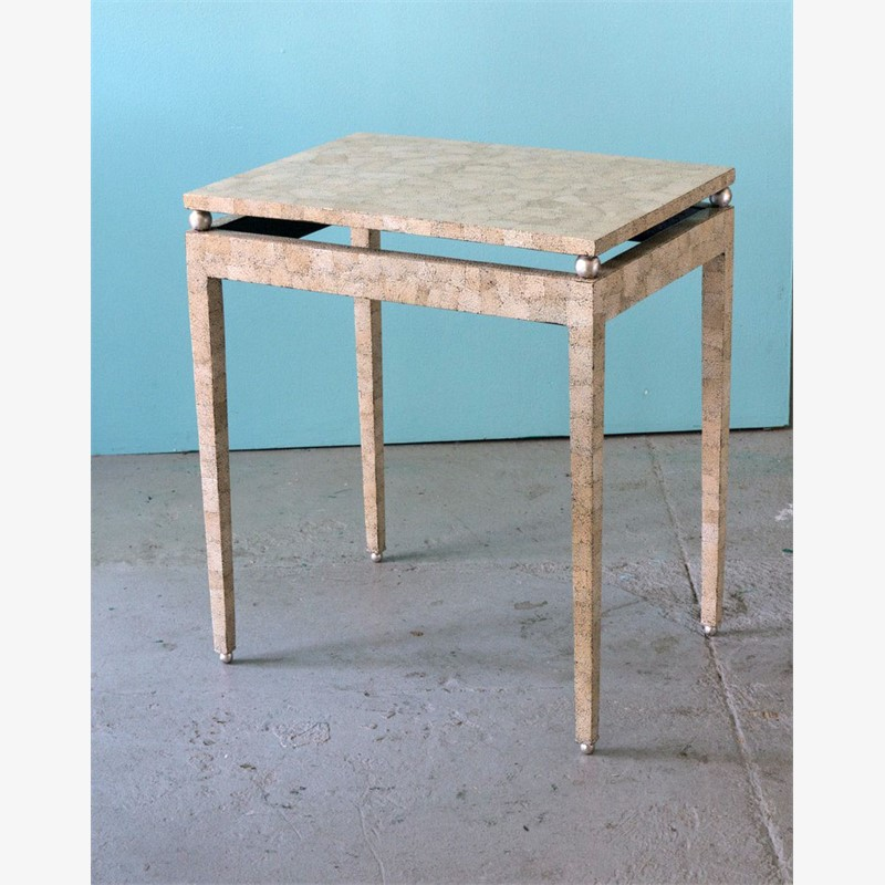 Eggshell table, 2019