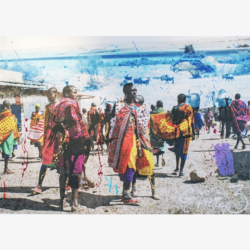 The Masai  by Arno Elias