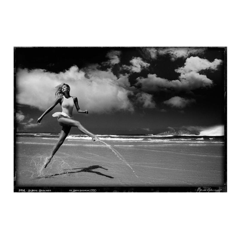 Ingrid, St Barth (Saline Beach) (1/25), 1990
