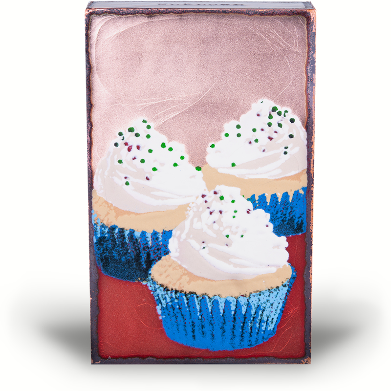 """Delicacy ~""""Be a cupcake in a world full of muffins.""""  - Unknown"""