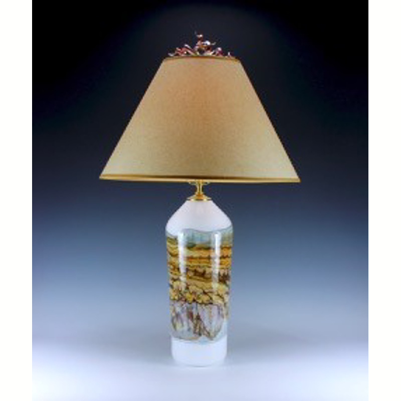 Opal Sage Table Lamp