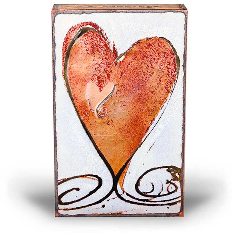 """Turner Heart II ~ """"I carry your heart with me (I carry it in my heart)."""" - E.E. Cummings, website"""