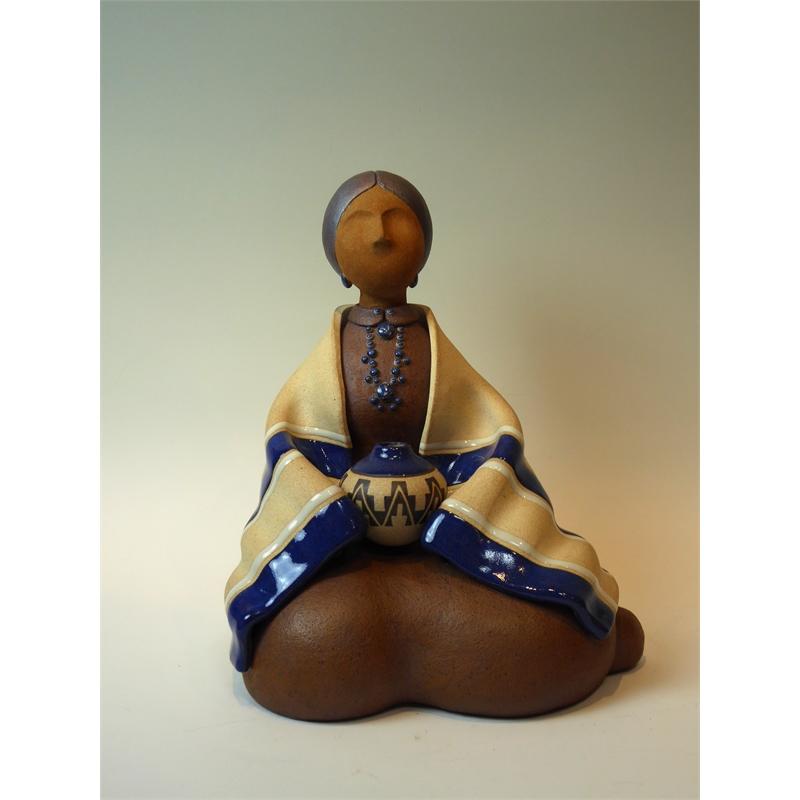 Navajo Woman ~ Seated
