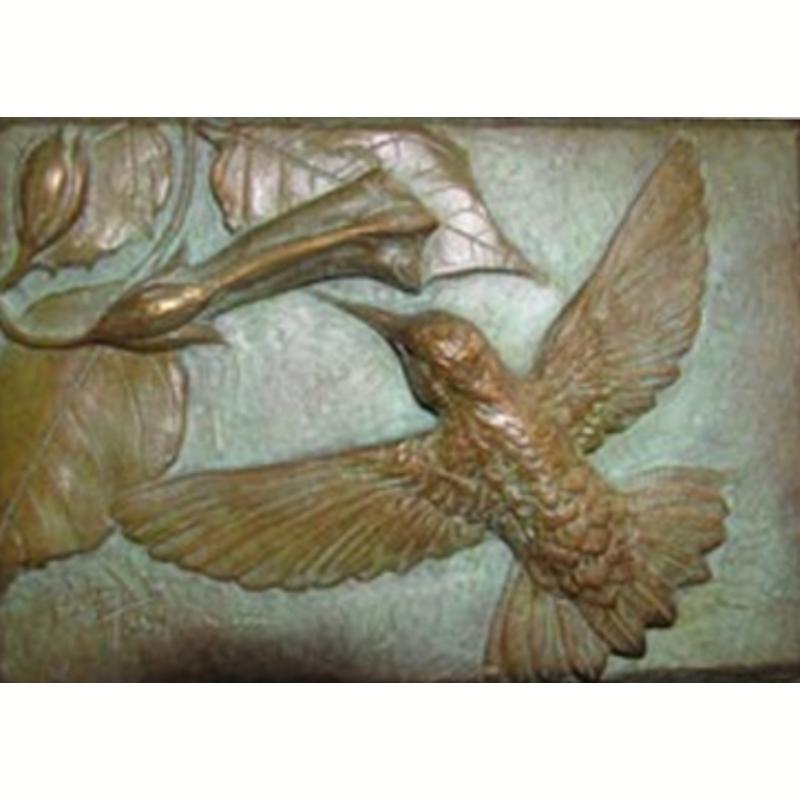 Hummingbird & Trumpetvine (50/50)