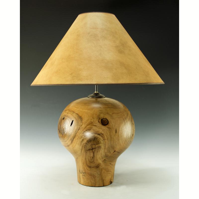 Large Mesquite Lamp