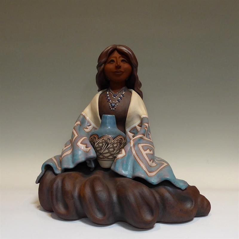 Zuni Maiden ~Large Seated