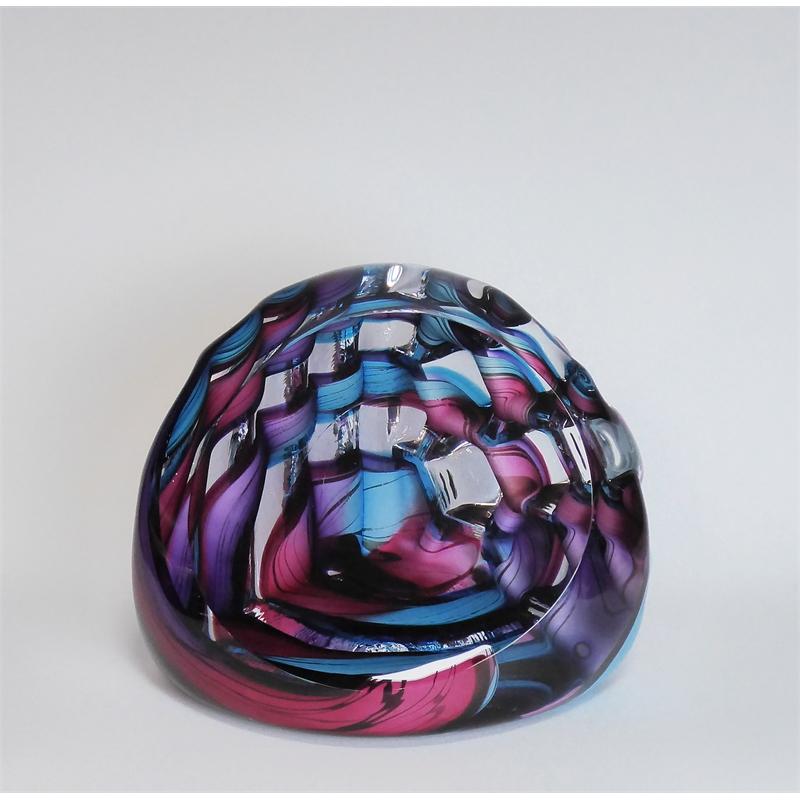 Corner Cube ~ Aqua Pink & Purples