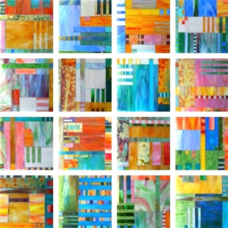 Light and Love (16-Panel) by Mary Borgen