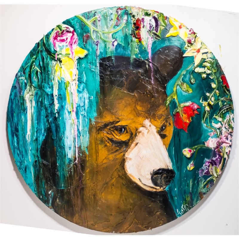 ROUND BEAR FLORAL BF60X60-2019-142, 2019