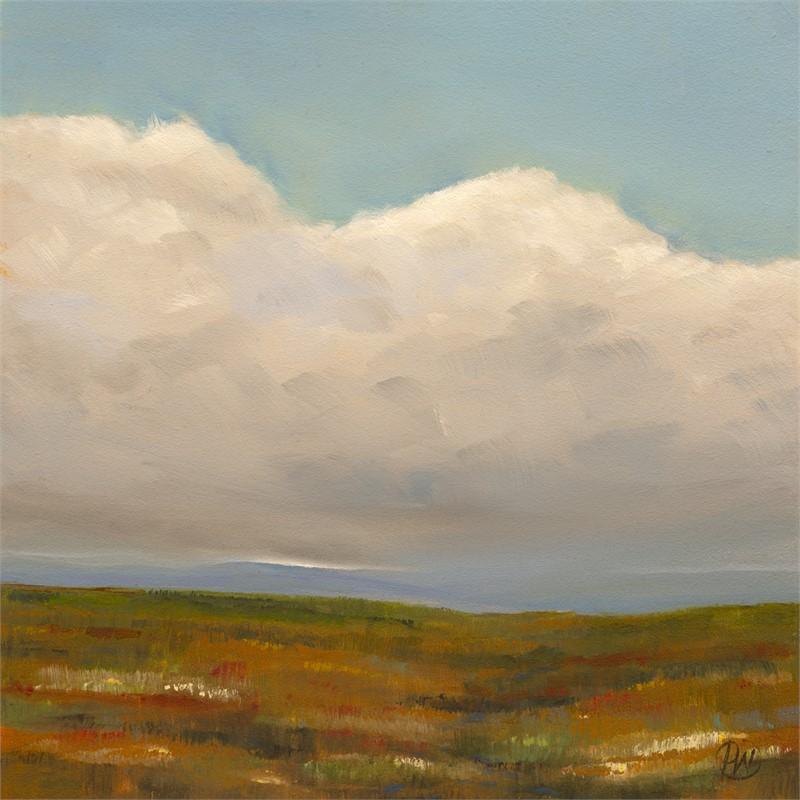 Rain, Hill, Field