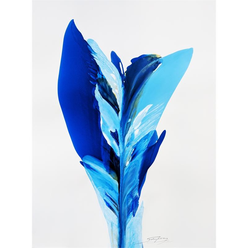 Blue Rio De' Colore' #1, 2018