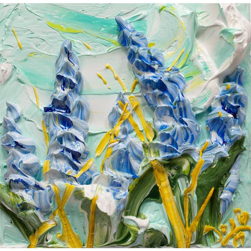 BLUEBONNET FLOWERS-BF-12X12-2019-195, 2019