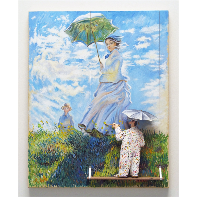 Woman with a Parasol - Madame Monet and her Son (Monet), 2019