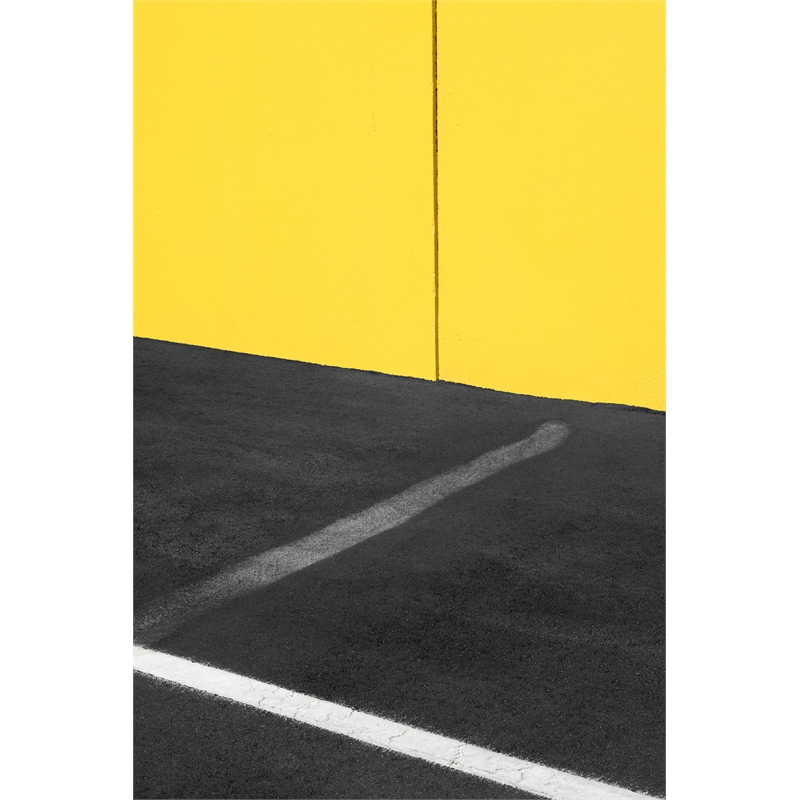 Yellow and Black with White (3/8), 2019