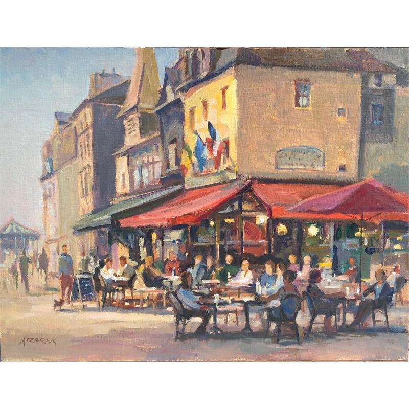 """""""Honfleur Cafe Fun"""", 2019"""