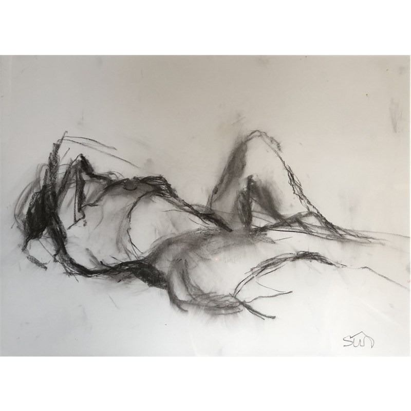 Reclining Nude One, 2019