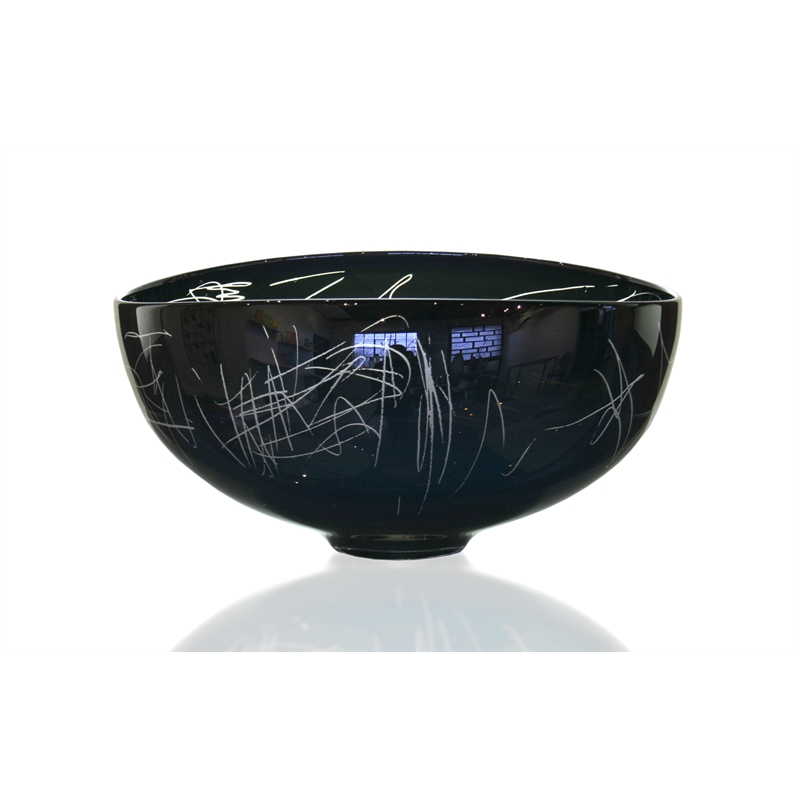 Black Lustre Scribe Bowl, 2018