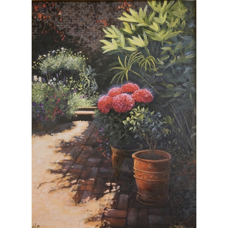 State Street Courtyard by Douglas Grier -- Giclee Prints