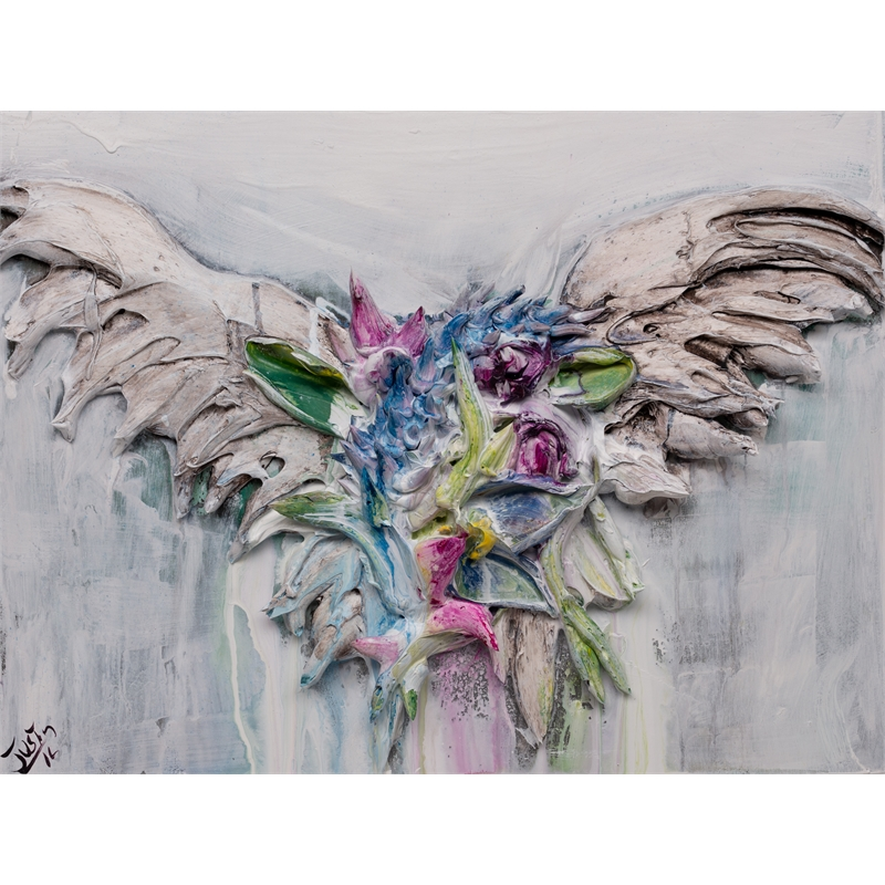 FLORAL WINGS FL-20X16-2019-357, 2019