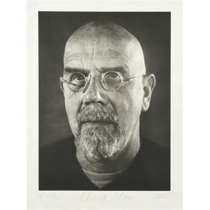 Self-Portrait/ Photogravure (1/35), 2005