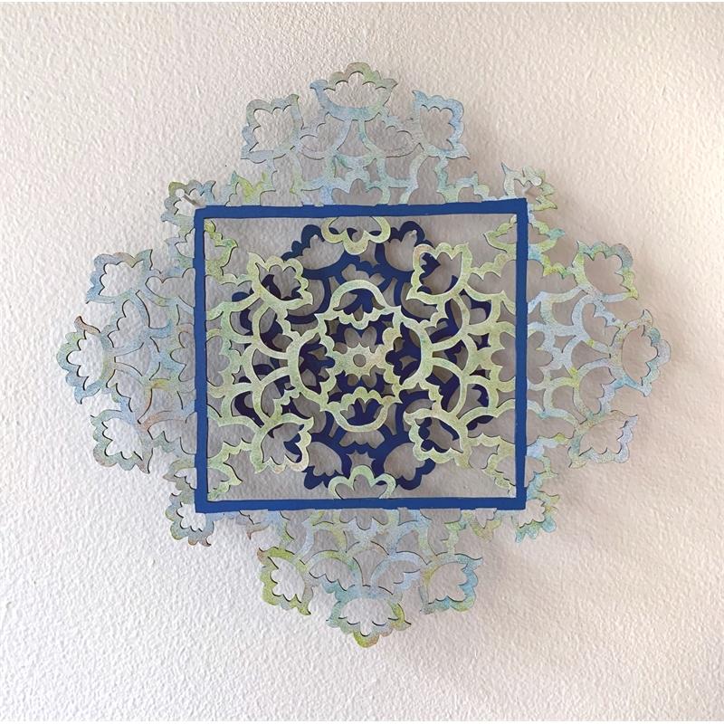 Blue Mandala, 2019
