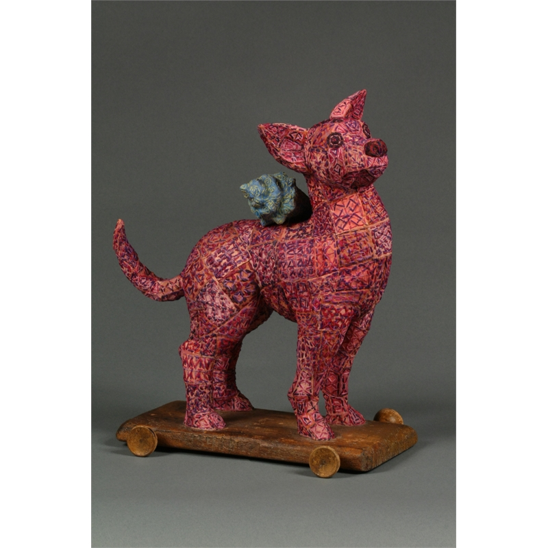 Pink Dog Pull Toy, 2011