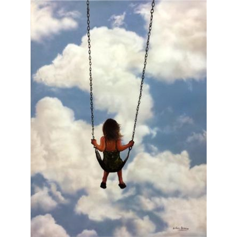Girl on a Swing II, 2019