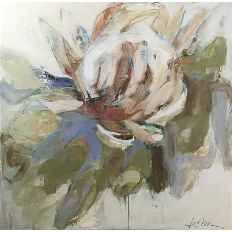 King Protea by Lynn Johnson
