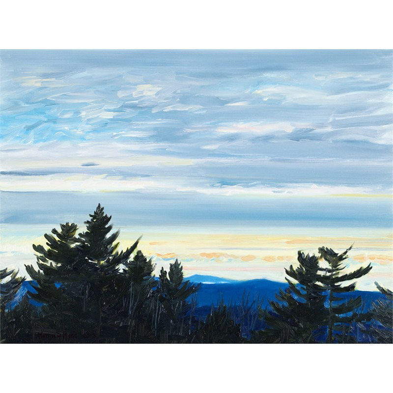 Dusk on Vienna Mountain #3, 2018