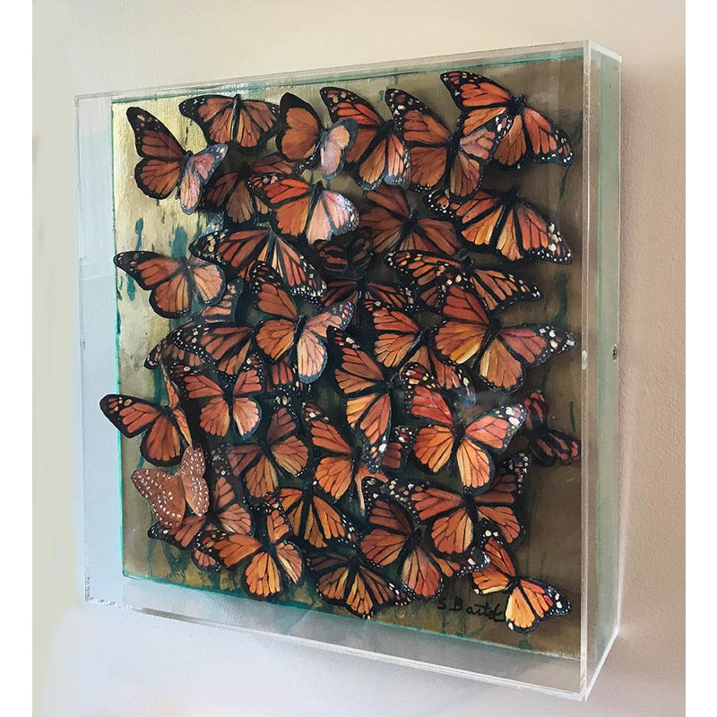 Monarchs in Flight
