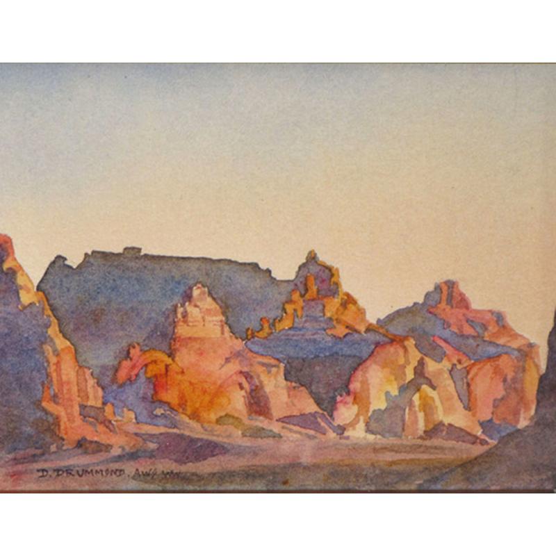 Sunset Near Boundary Butte