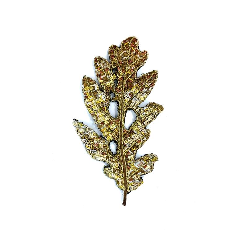 The Impermanence of Life: Oak Leaf V
