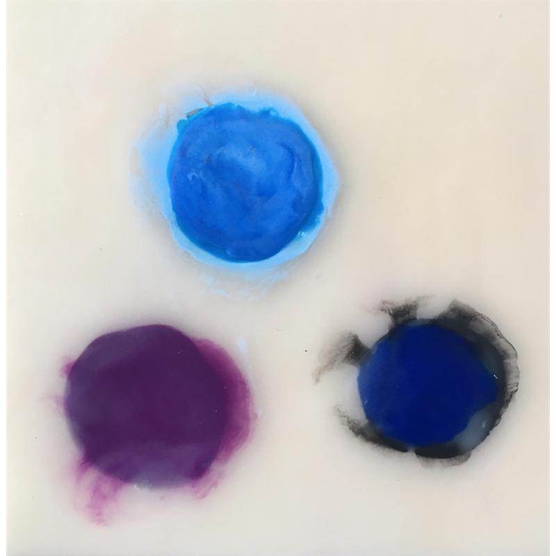 Mini Meditation: Two Blues and a Purple