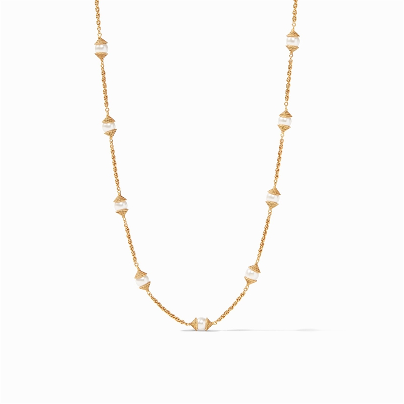 Calypso Pearl Delicate Necklace by Julie Vos