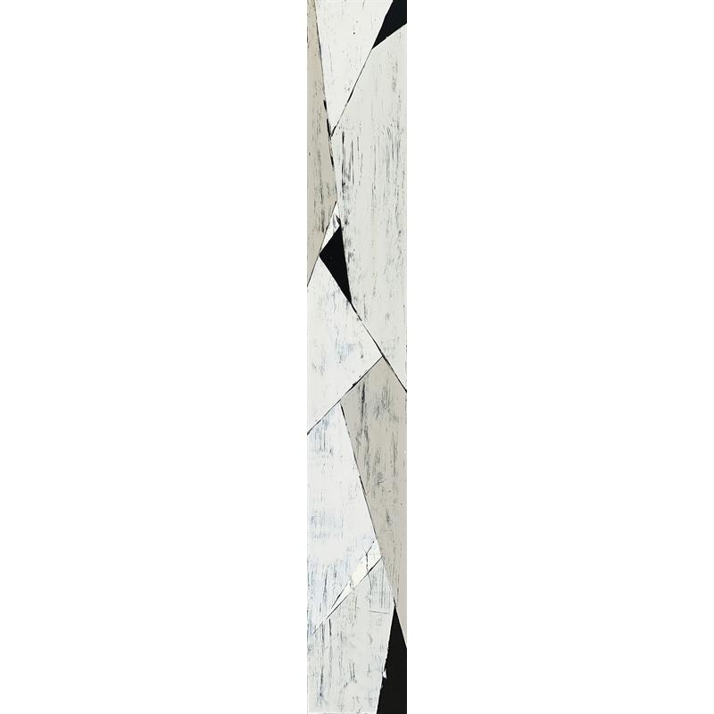 Faccetta: Black & Tan IV by Ann Griffith