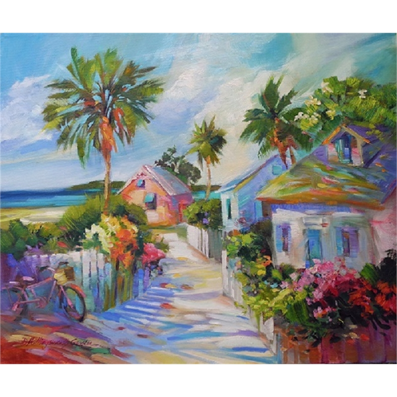 """Island Lane, Abacos"", 2016"
