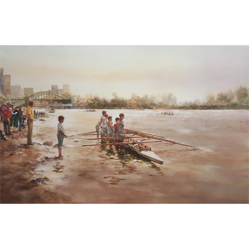 Head of the Charles (framed)