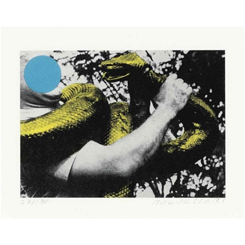 Man with Snake (Blue and Yellow) (105/170), 1991