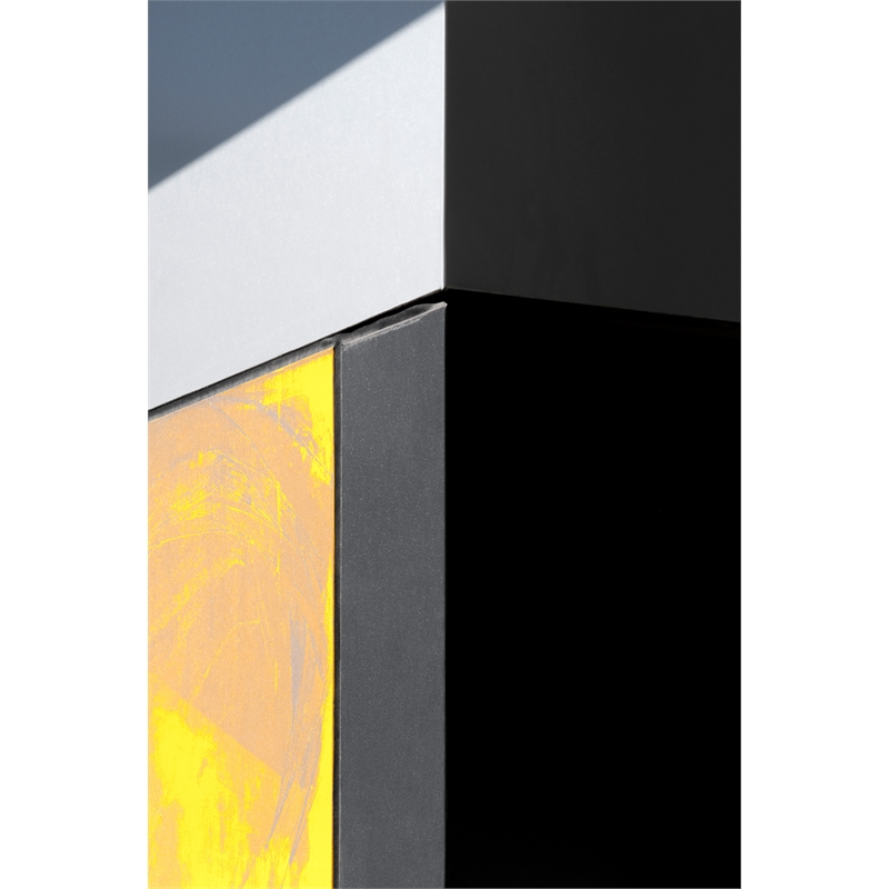Yellow, Black and Grey (1/5), 2019