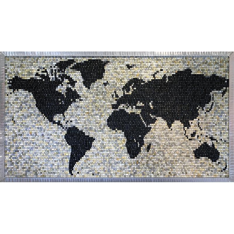 World Map, 2020
