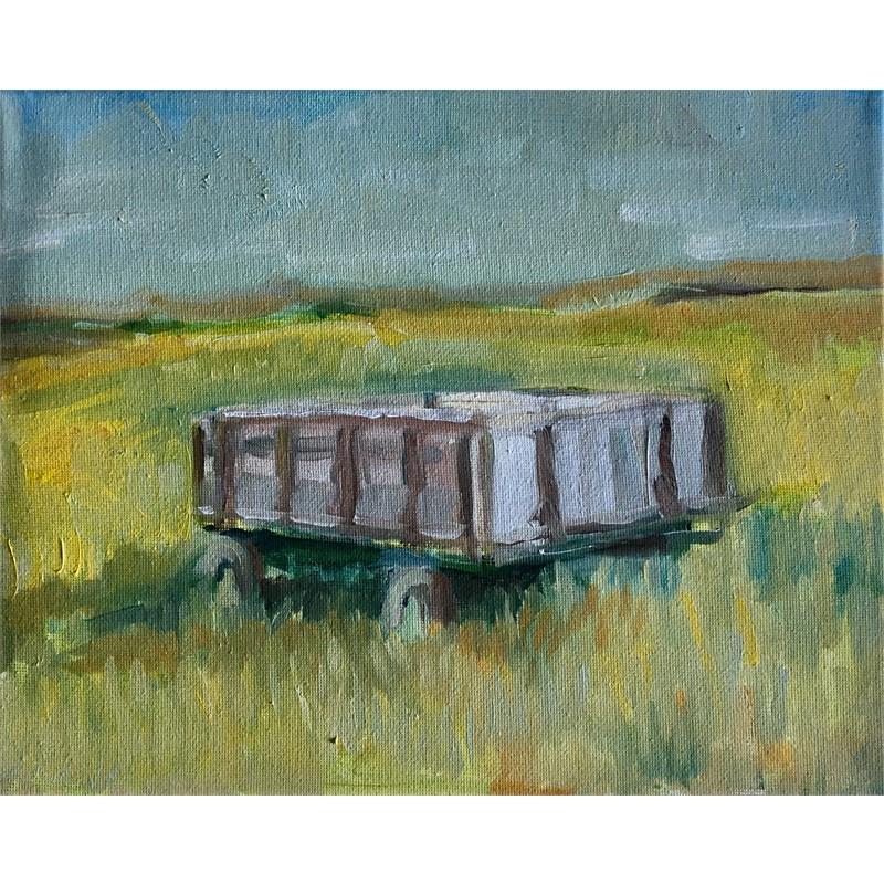 Old Grey Feed Wagon on the Bottom