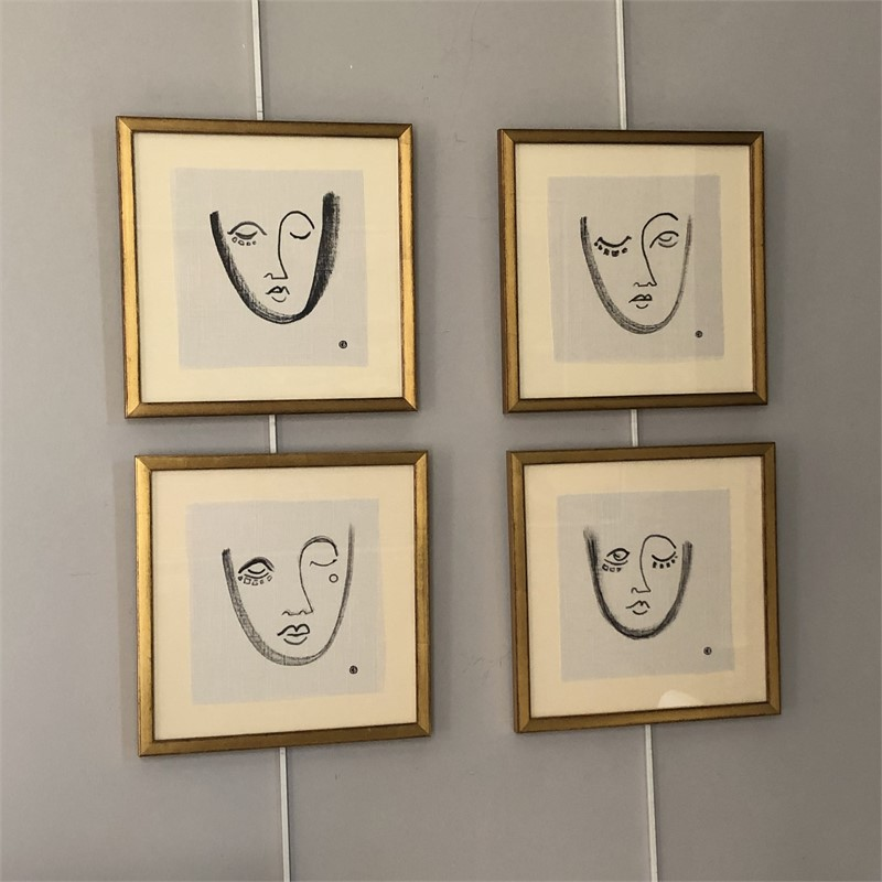 FACES,  series of four, 2019