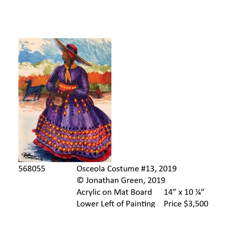 Osceola Costume #13, 2019