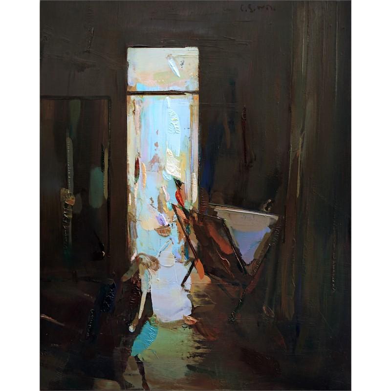Door and mirror (interior), 2019