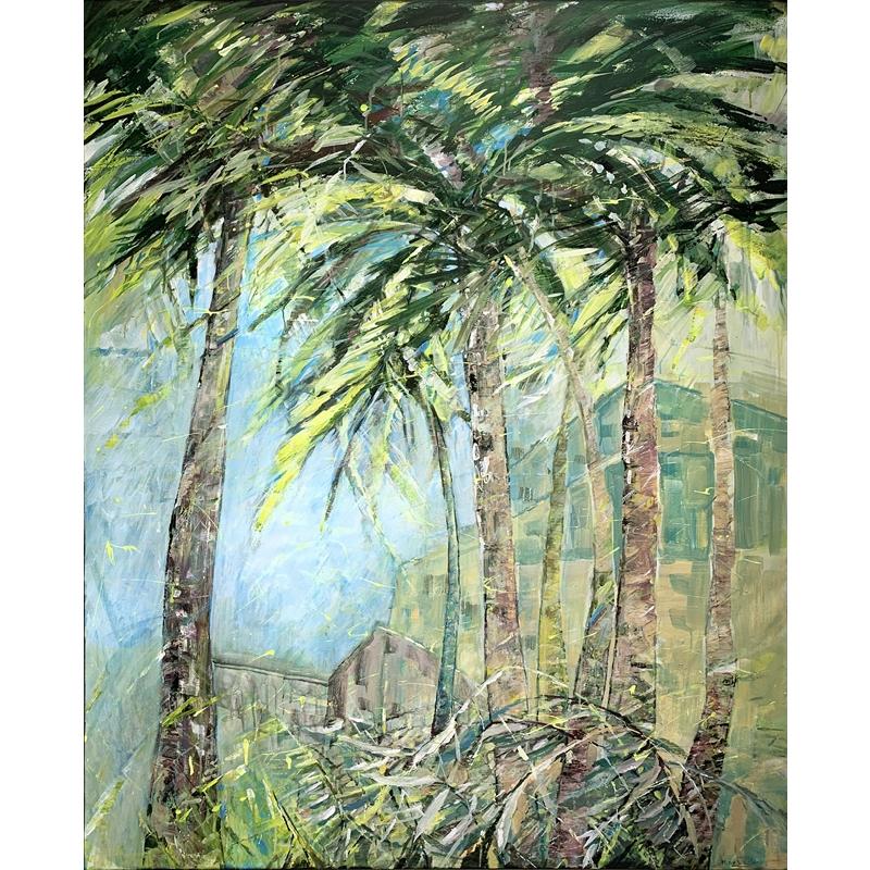Florida Palms by Marleen De Waele-De Bock