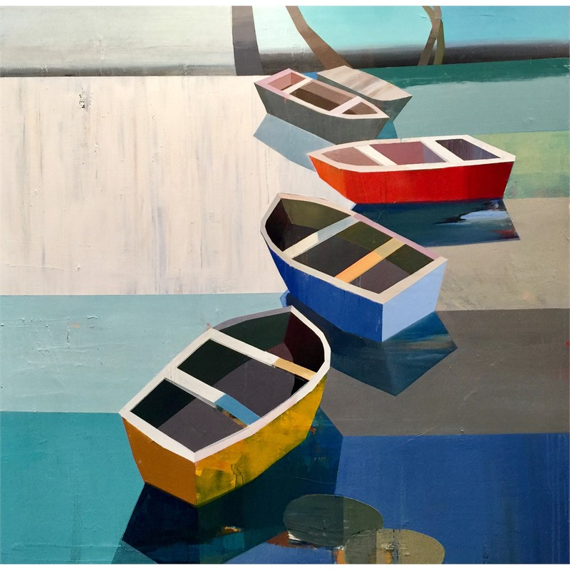 Boats in the Shallow Water #24, 2018