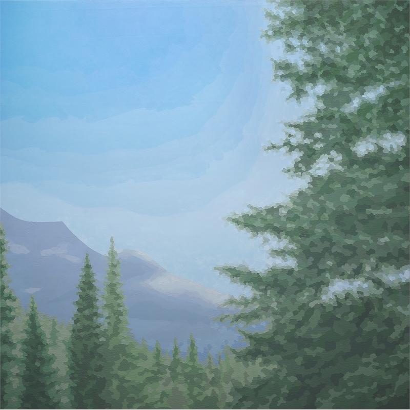 Cerulean Vista by Elaine Coombs