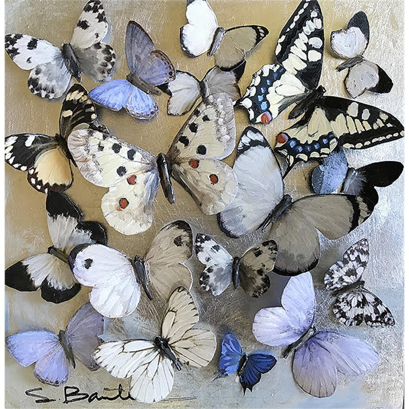 Black & White Butterflies 3