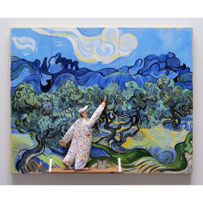The Olive Trees (Van Gogh), 2018