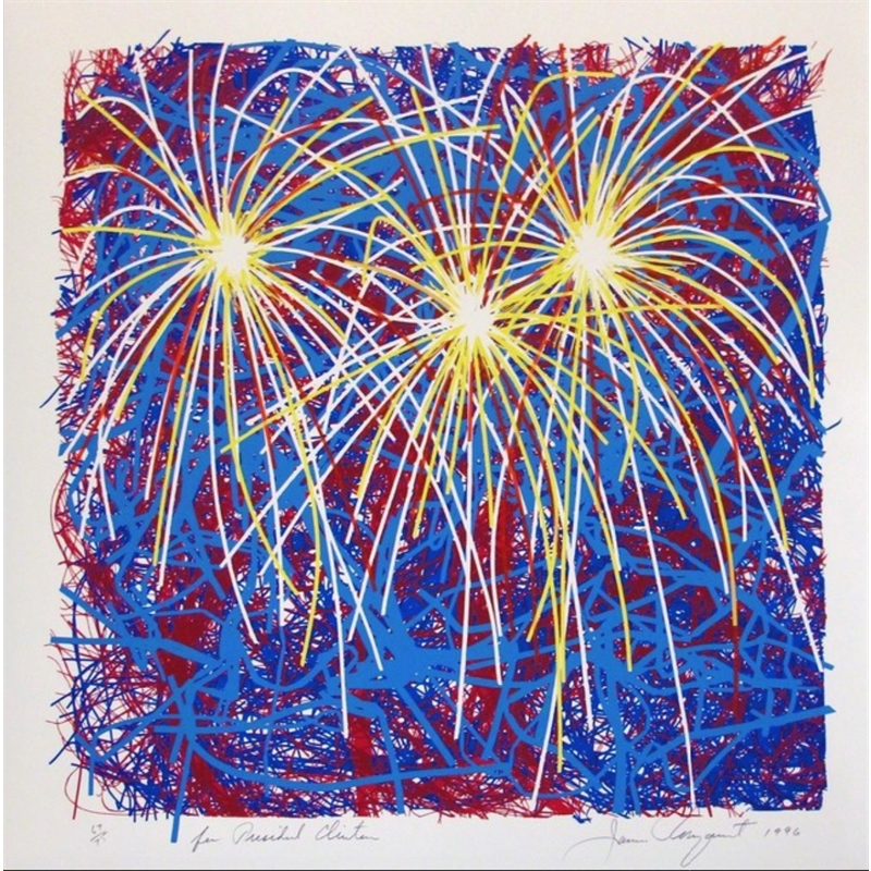 Fireworks (For President Clinton) (62/75), 1996